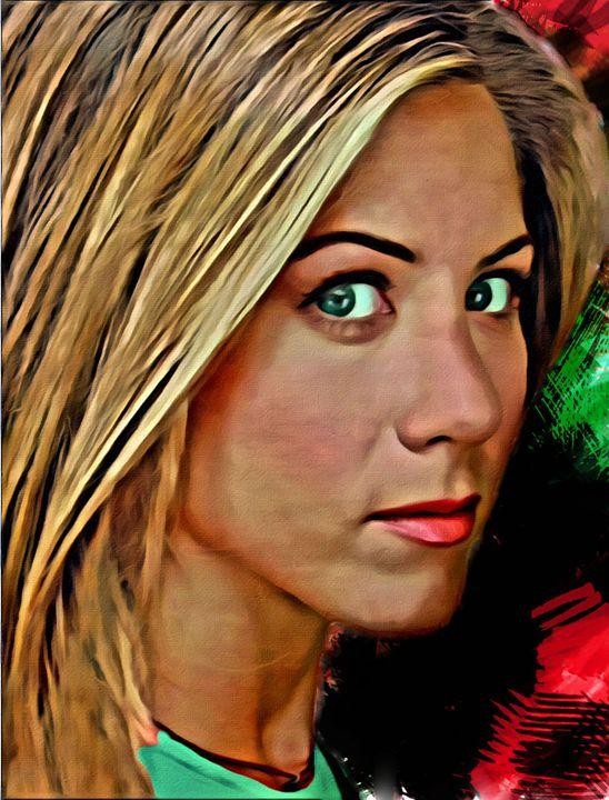 Jennifer Aniston #12 - Newburn Art