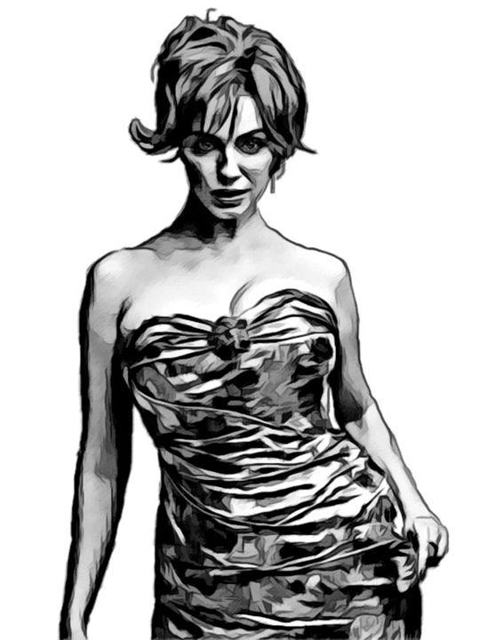 Christina Hendricks #1 - Newburn Art