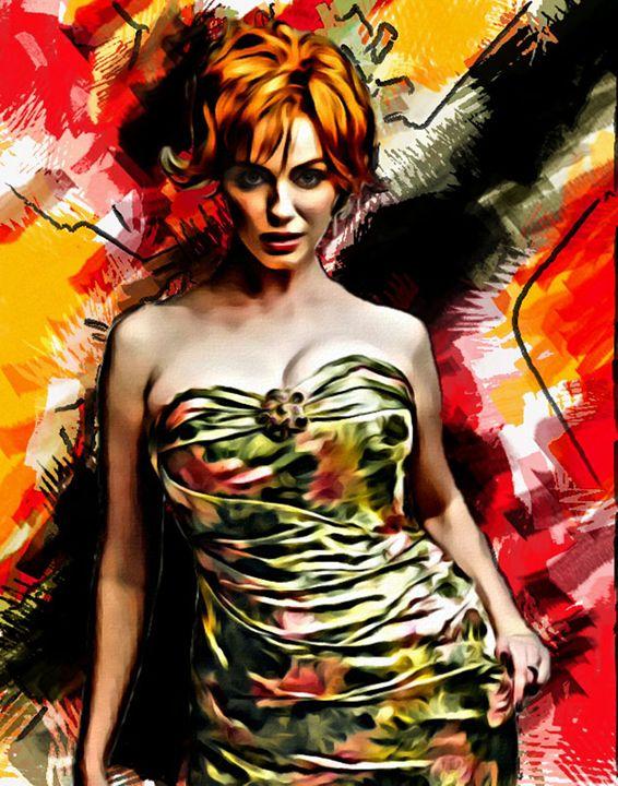 Christina Hendricks #12 - Newburn Art