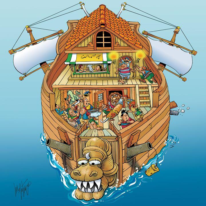 Whacky Ship - Len Epstein