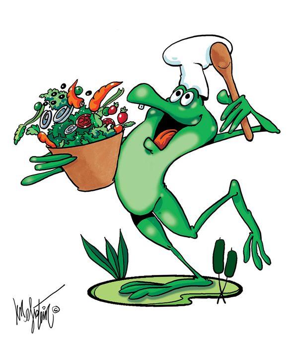 Frog and Veggies - Len Epstein