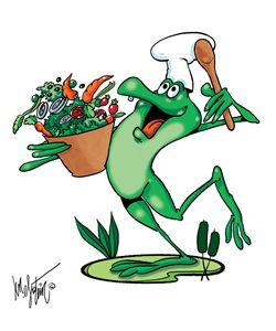 Frog and Veggies