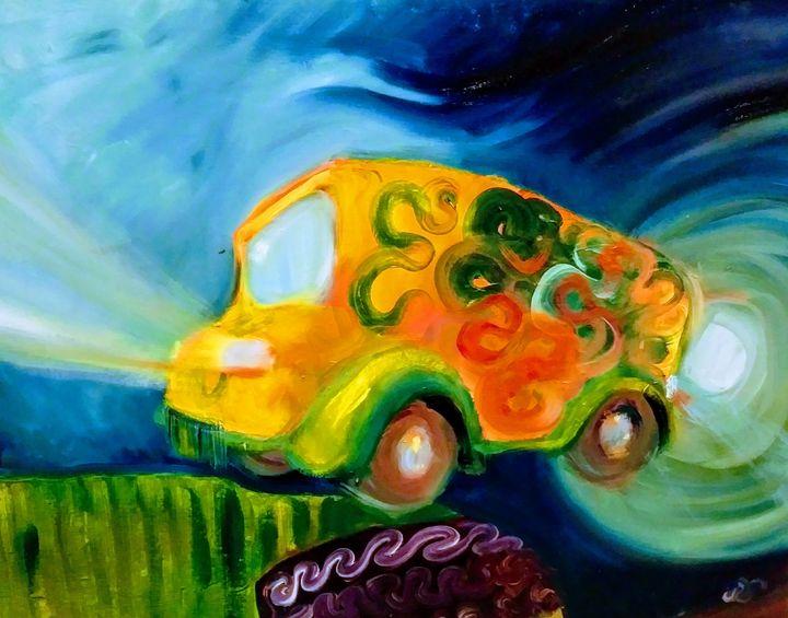 Magic's Cool Bus - Hannah Beckwith