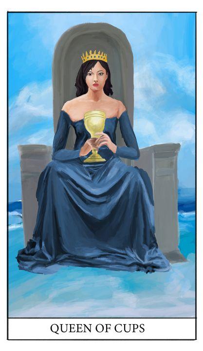 Queen of Cups - Jimmy Li