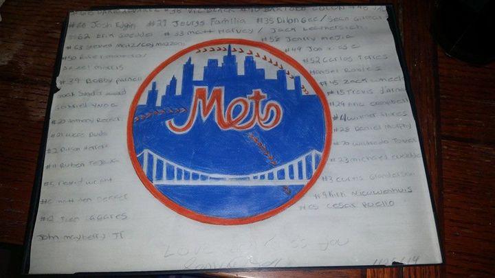 Mets - samantha Drawings