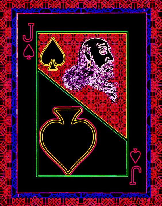 Jack of Spades - Works by Digital Artist Ron Mock