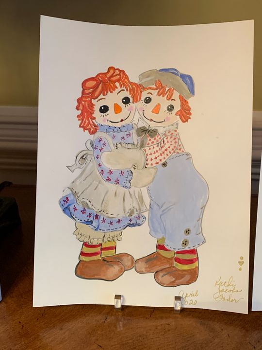 Raggedy Ann and Andy - Kathi Jacobs Fodor