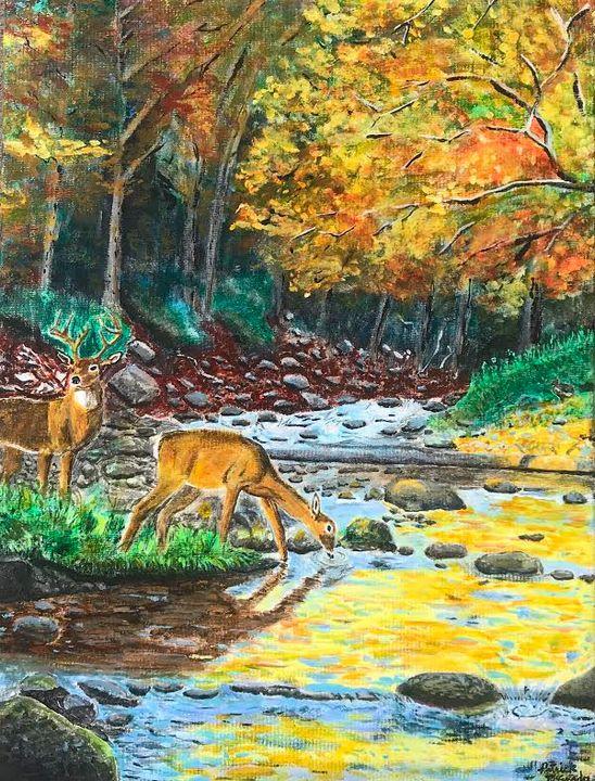 Thirsty Deer - PBM