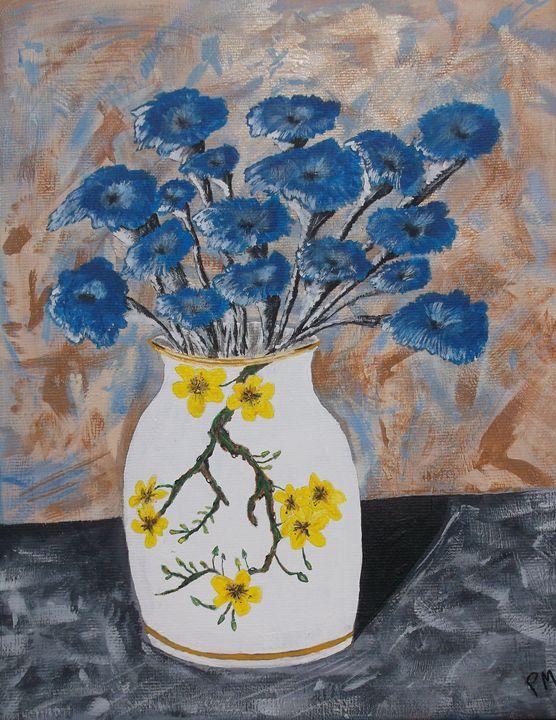 Flowered Vase - PBM