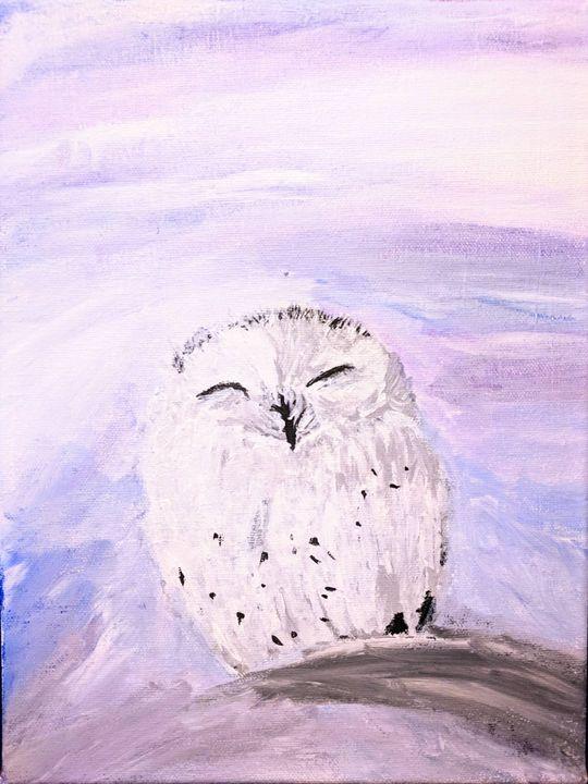 Winter Owl - The Regal Owl
