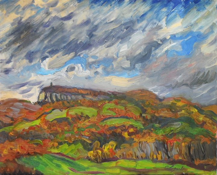 Mount Mohonk, Fall - Charles Leopardo