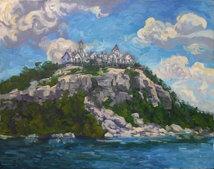 Cliff House At Lake Minnewaska - Charles Leopardo