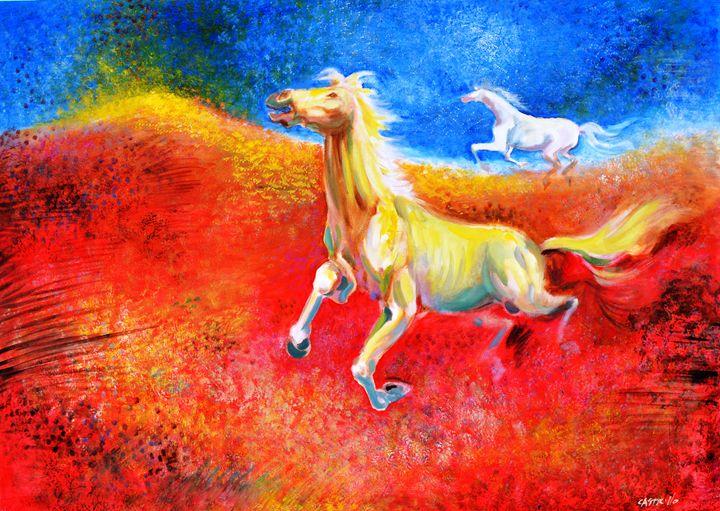 Horses - Carlos Castrillo