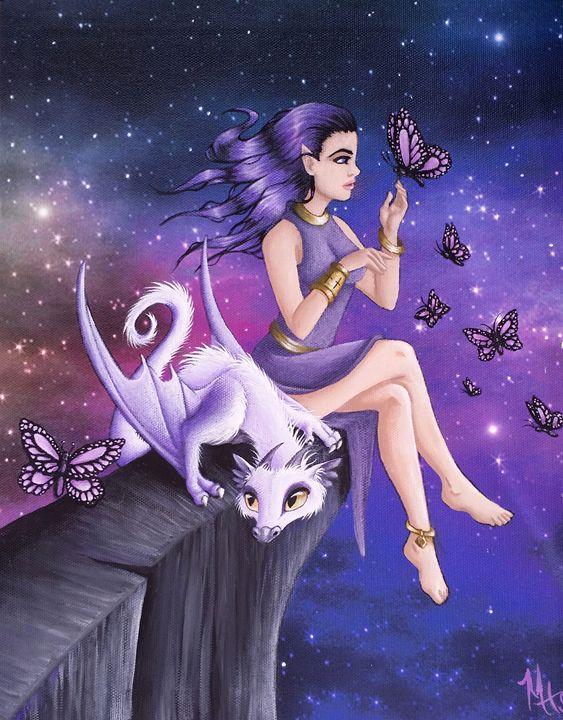 Violet Night Fantasy - Caged Dreams