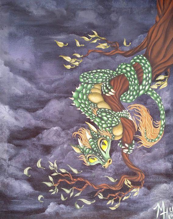 Tree Dragon - Caged Dreams