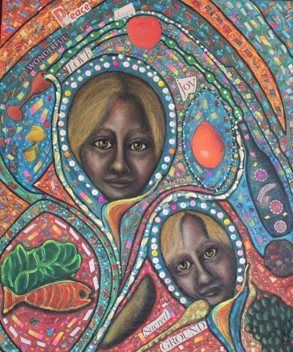 Madonna and Child - Jayne's Fine Folk Art Gallery