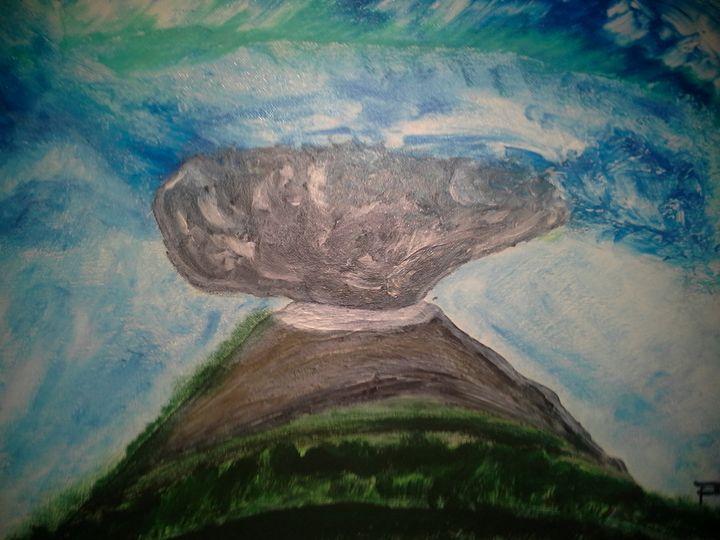 Mount Fiji Volcano - Robert Steer's Art Gallery