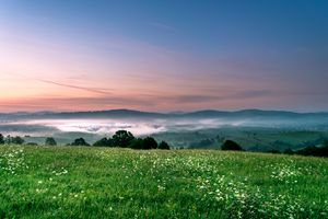 Ten seconds befre sunrise