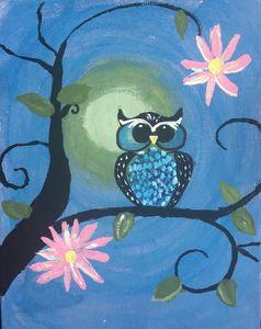 Owl - summer night