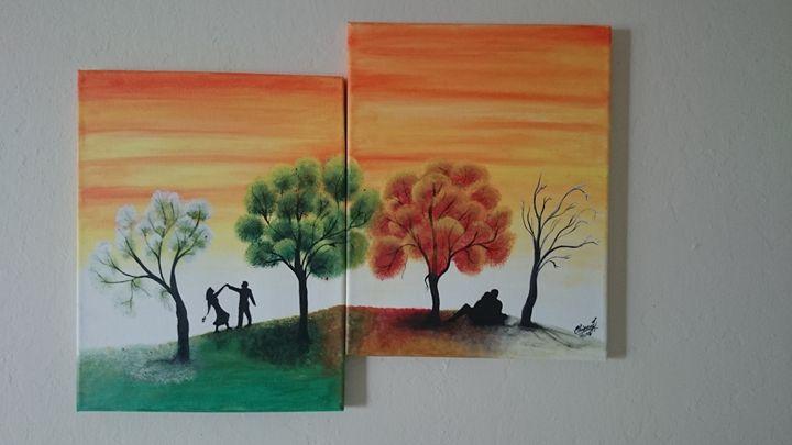 seasons landscape - Chinnu