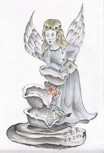 Angel - Cascading Water