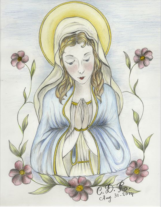 Virgin Mary - Caterina DeRosa Gallery