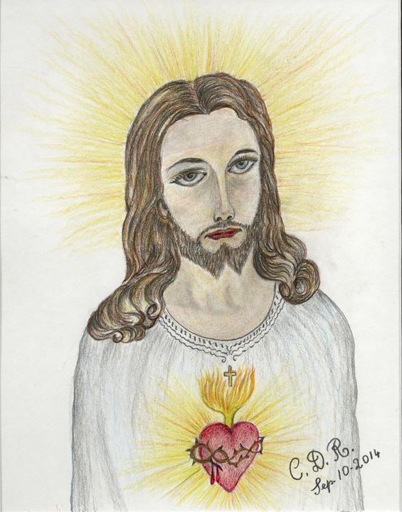 Jesus - Caterina DeRosa Gallery