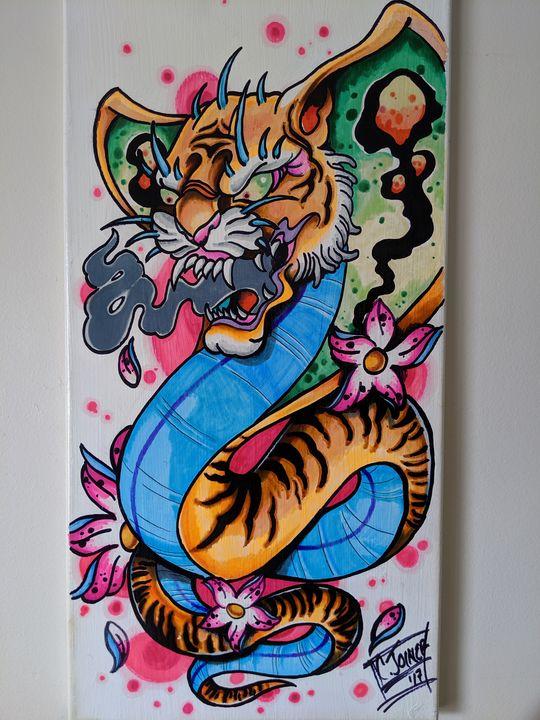"""Tiger Lily"" - MufasaPrintsArts"