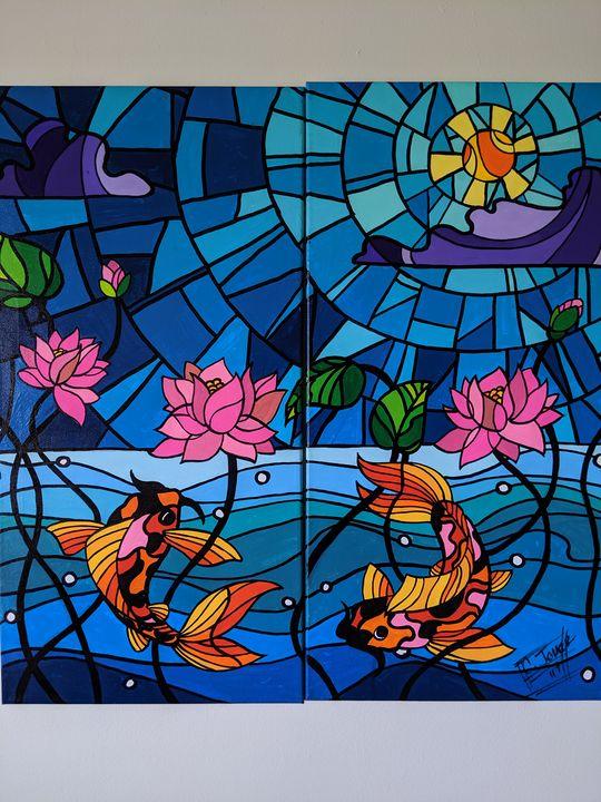 """Pisces Harmony"" - MufasaPrintsArts"