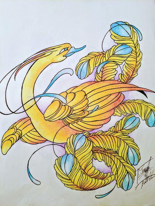 """Phoenix Lover"" - MufasaPrintsArts"