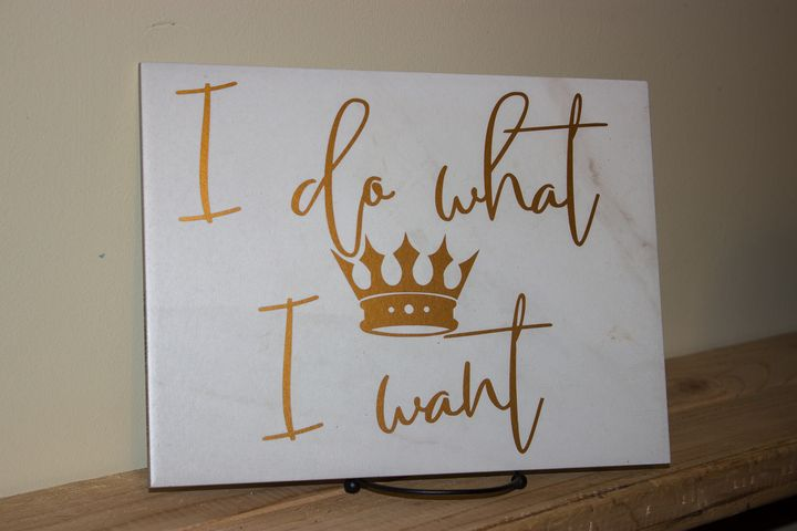 I do what I want - Sadistic Canvas