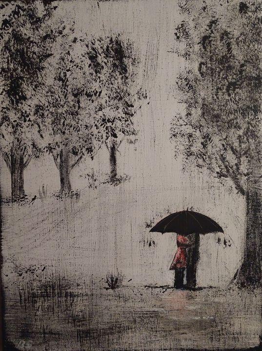 Love even when it rains - Brenlee Designs