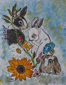 Follow your heart - Bunnies garden - Ella