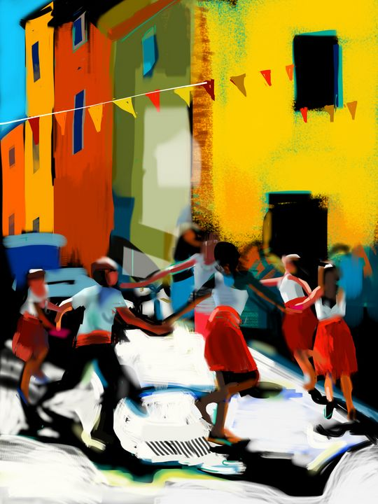 Dance in Provence - Andrew Storey
