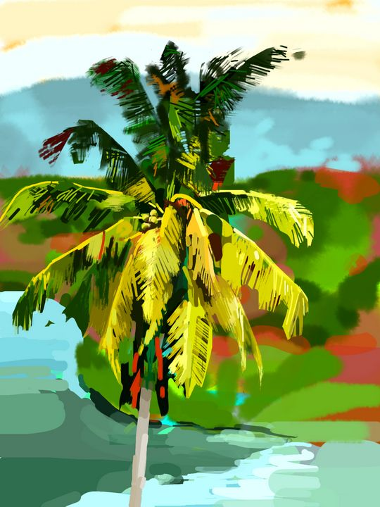 Palm Tree - Andrew Storey