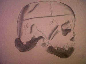 A Mans Head
