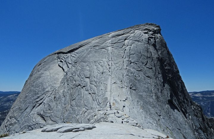 Half Dome Cables - Art by Iain
