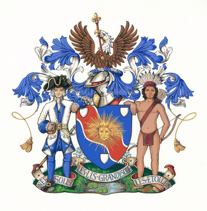 Louisiana Heraldry (ASJ) - Orleans Heraldry & Fine Art
