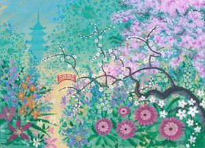 Japanese Garden (Ce) - Orleans Heraldry & Fine Art