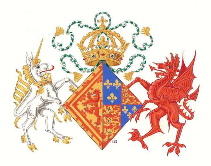 Margaret Tudor Queen of Scots (Ce) - Orleans Heraldry & Fine Art
