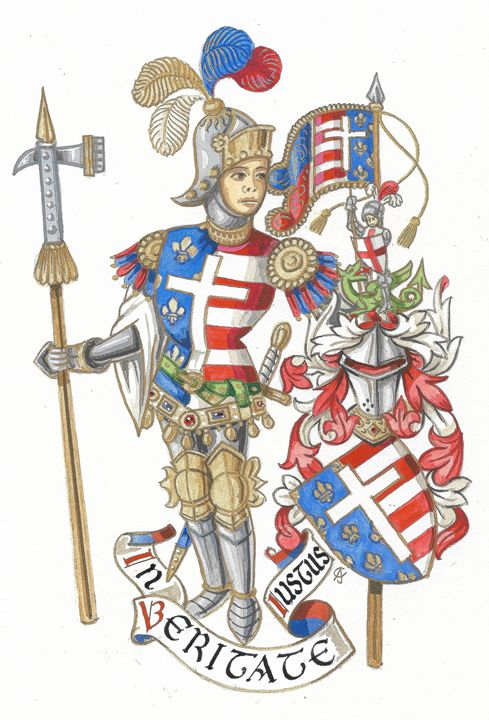 Knight - Order of St. George (Ce) - Orleans Heraldry & Fine Art