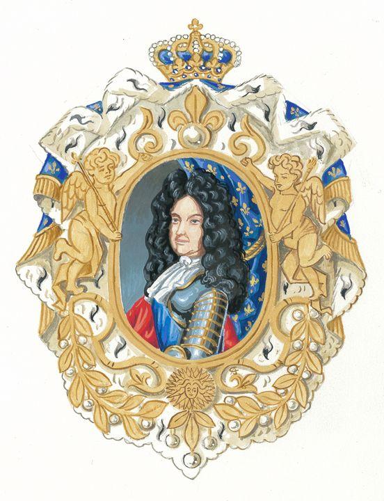 King Louis XIV (CJ) - Orleans Heraldry & Fine Art