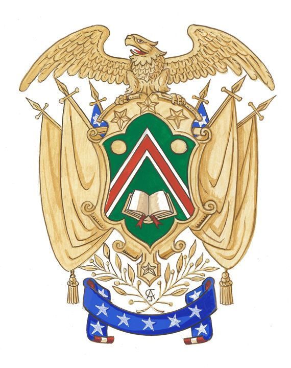 American Armorial (Ce) - Orleans Heraldry & Fine Art