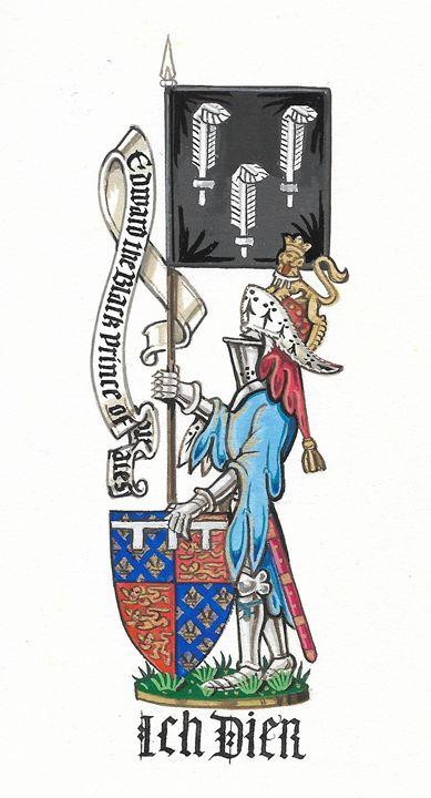 The Black Prince (ASJ) - Orleans Heraldry & Fine Art
