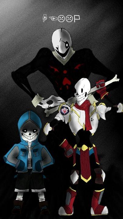 Skeletal Trio - Ha-Dakun and the trash bin