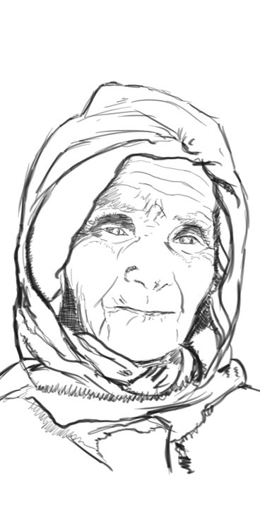 Portfolio sketch 5 - Hermes Auslander