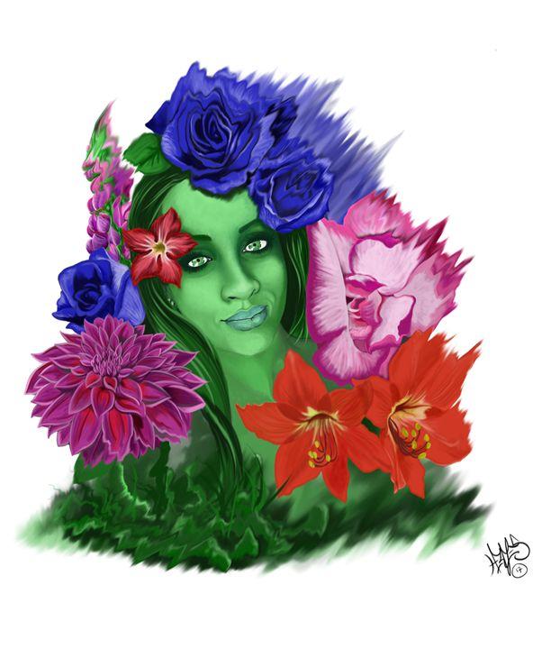 A Bouquet for Her - Hermes Auslander