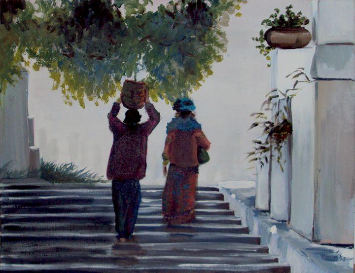 Burmese Scene - Heather Royal