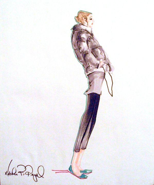 Ellen in a Puffer - Heather Royal