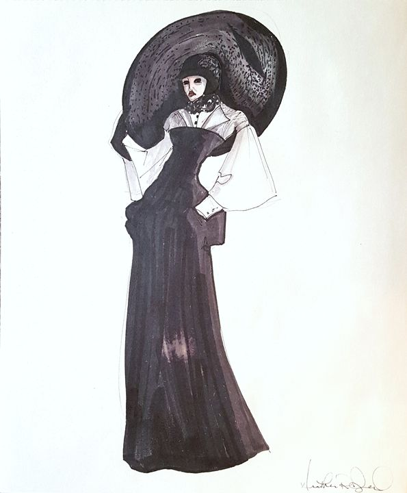Woman in Black - Heather Royal